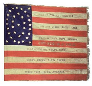 Regimental Flag, 33rd Regiment, NJ Volunteers (CN 93)