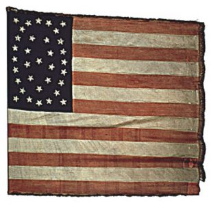 US Flag - 28th Regiment, NJ Volunteers (CN 87)