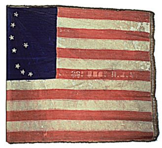 US Flag - 33rd Regiment, NJ Volunteers (CN 89)