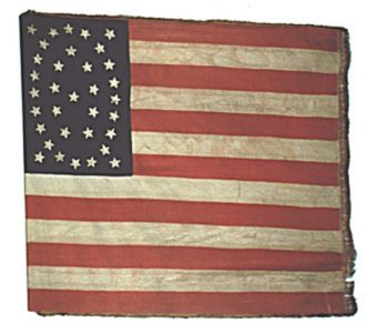 US Flag - 30th Regiment, NJ Volunteers (CN 88)