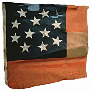 Confederate Flag - 11 Stars (Captured by 3rd Regiment, NJ Volunteers, Manassas) (CN 135)