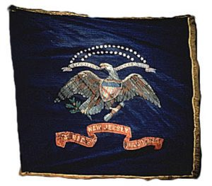 Regimental Flag - 3rd Regiment, NJ Volunteers (CN 17)