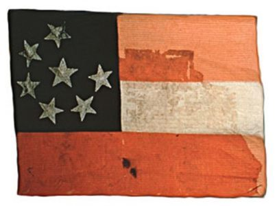 Confederate Flag - Seven Stars (CN 138)