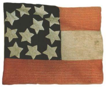 Confederate Flag - 11 Stars (Captured by 3rd Regiment, NJ Volunteers, Manassas) (CN 139)