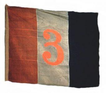 Brigade Flag, 2nd New Jersey Brigade, 1862-1863 (CN 16)