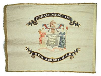 Organization Flag - NJ Department, Grand Army of the Republic (CN 130)