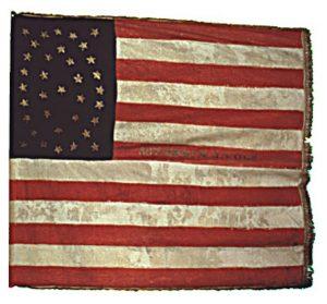 US Flag - 38th Regiment, NJ Volunteers (CN 107)