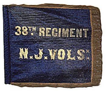 Camp Color or Flank Marker, 38th Regiment, NJ Volunteers (CN 105)