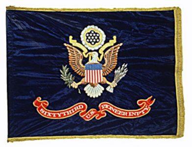 US Flag - 63rd Pioneer Infantry (Post Civil War)(CN 129)