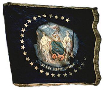 Regimental Flag - 3rd Regiment, NJ Cavalry (CN 115)