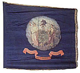 Regimental Flag - 40th Regiment, NJ Volunteers (CN 112)