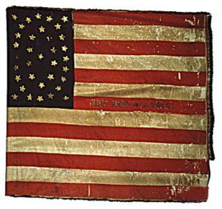 US Flag - 39th Regiment, NJ Volunteers (CN 111)