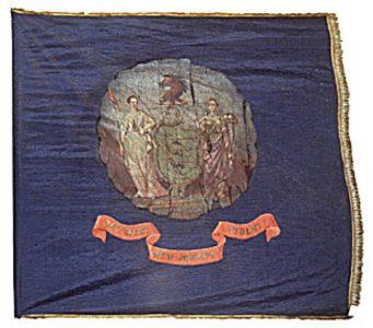 Regimental Flag - 38th Regiment, NJ Volunteers (CN 108)