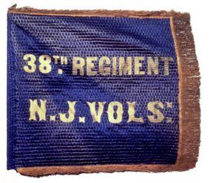Camp Color or Flank Marker, 38th Regiment, NJ Volunteers (CN 104)