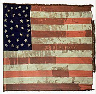 US Flag - 35th Regiment, NJ Volunteers (CN 97)