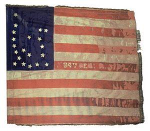 US Flag - 34th Regiment, NJ Volunteers (CN 95)