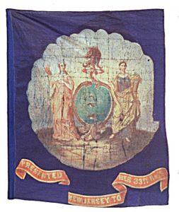 Regimental Flag - 33rd Regiment, NJ Volunteers (CN 92)