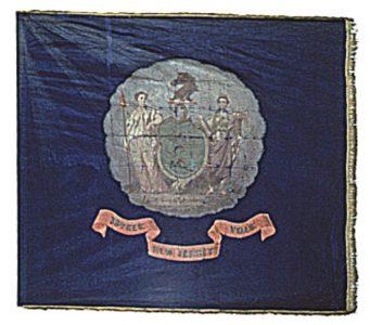 Regimental Flag - 33rd Regiment, NJ Volunteers (CN 91)