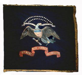 Regimental Flag - 2nd Regiment, NJ Volunteers (CN 9)