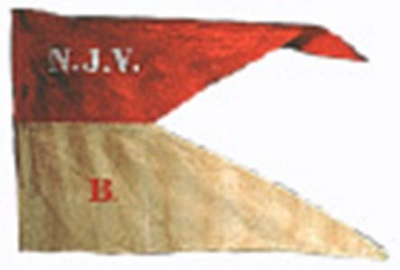 Guidon, Company B, 1st New Jersey Cavalry (CN 133)