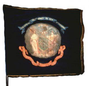 Regimental Flag - 3rd Regiment, NJ Volunteers (CN 19)