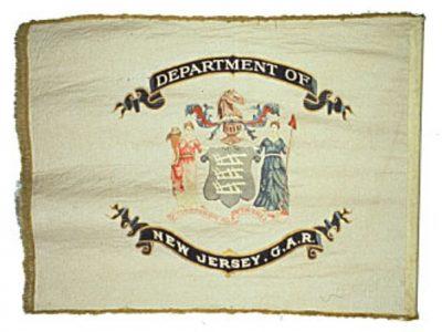Organization Flag - NJ Department, Grand Army of the Republic (CN 130)