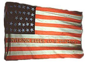 US Flag, Company B, 4th Militia (CN 23)