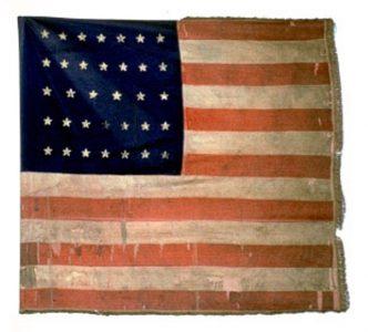 US Flag - 8th Regiment of Infantry, US Volunteers (CN 43)