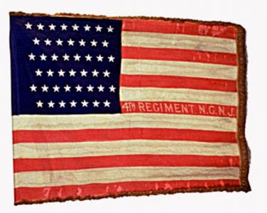 US Flag - 4th Regiment, New Jersey National Guard (1898) (CN 30)