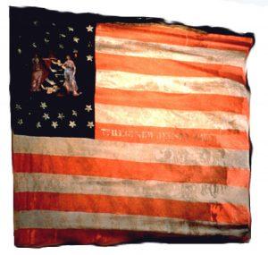 US Flag - 7th Regiment, NJ Volunteers (CN 42)
