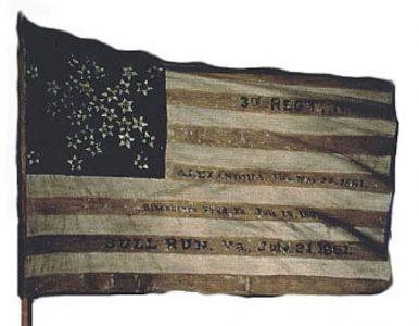 US Flag - 3rd Regiment, NJ Militia (CN 18)