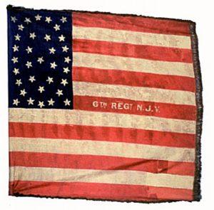 US Flag - 6th Regiment, NJ Volunteers (CN 37)