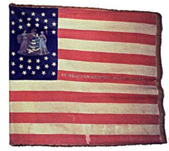 US Flag - 4th Regiment, NJ Volunteers (CN 25)