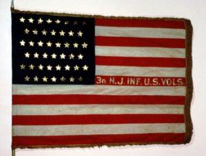 US Flag, 3rd Regiment of Infantry, US Volunteers (1898) (CN 22)