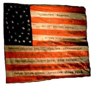 US Flag - 7th Regiment,NJ Volunteers (CN 40)