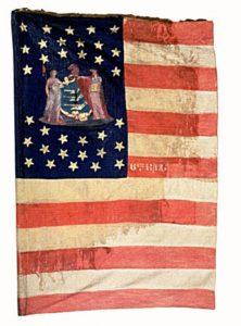 US Flag - 6th Regiment, NJ Volunteers (CN 33)