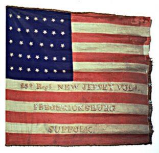 US Flag - 25th Regiment, NJ Volunteers (CN 81)
