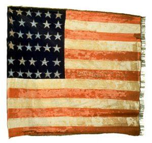 US Flag - 21st Regiment, NJ Volunteers (CN 74)