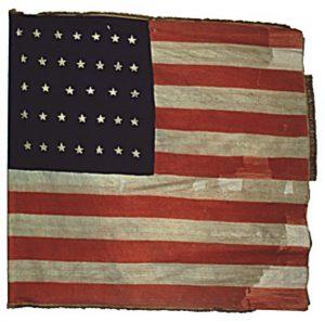US Flag - 26th Regiment, NJ Volunteers (CN 84)