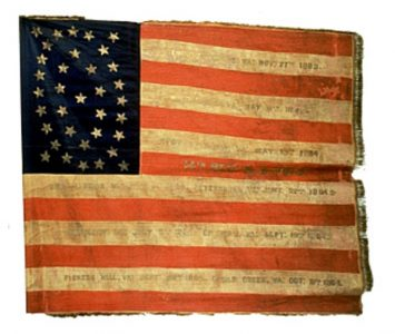 US Flag - 14th Regiment, NJ Volunteers (CN 69)