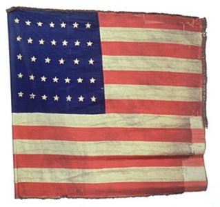 US Flag - 24th Regiment, NJ Volunteers (CN 79)