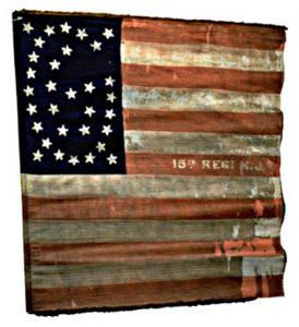 US Flag - 15th Regiment, NJ Volunteers (CN 71)