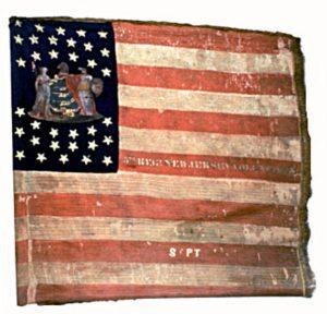 US Flag - 5th Regiment, NJ Volunteers (CN 32)