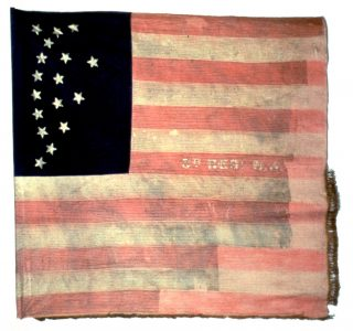 US Flag - 8th Regiment, NJ Volunteers (CN 45)