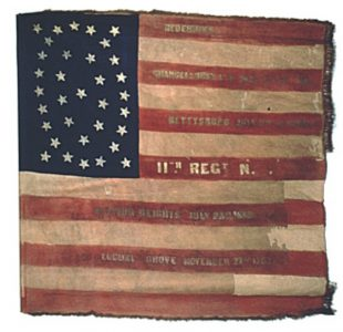 US Flag - 11th Regiment, NJ Volunteers (CN 56)