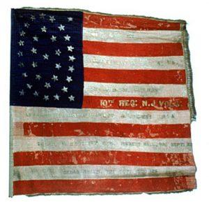 US Flag - 10th Regiment, NJ Volunteers (CN 53)