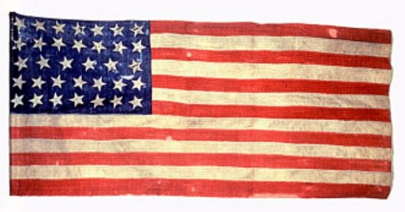 US Flag - 8th Regiment, NJ Volunteers (CN 47)