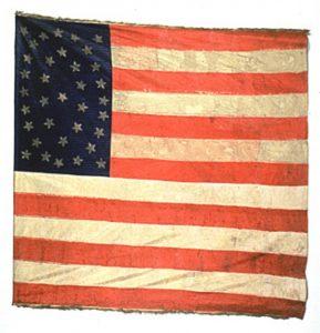 US Flag - 11th Regiment Infantry, US Volunteers (CN 58)