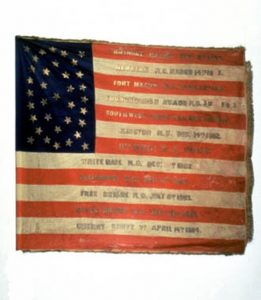 US Flag - 9th Regiment, NJ Volunteers (CN 51)