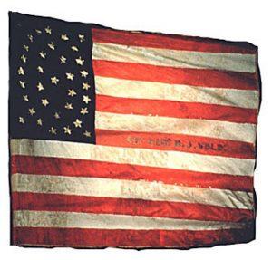US Flag - 40th Regiment, New Jersey Volunteers (CN 6)
